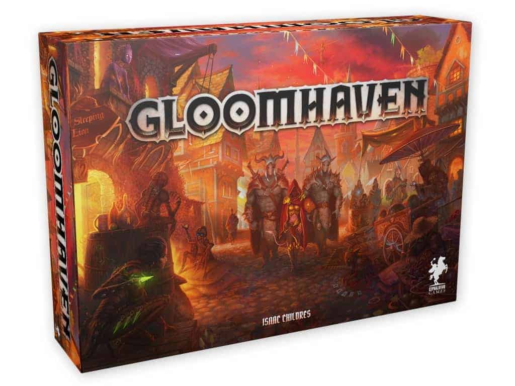 Gloomhaven is truly remarkable. Not only it tops the list of the best cooperative board games of all times. It is also an amazing storytelling, single player or RPG experience!