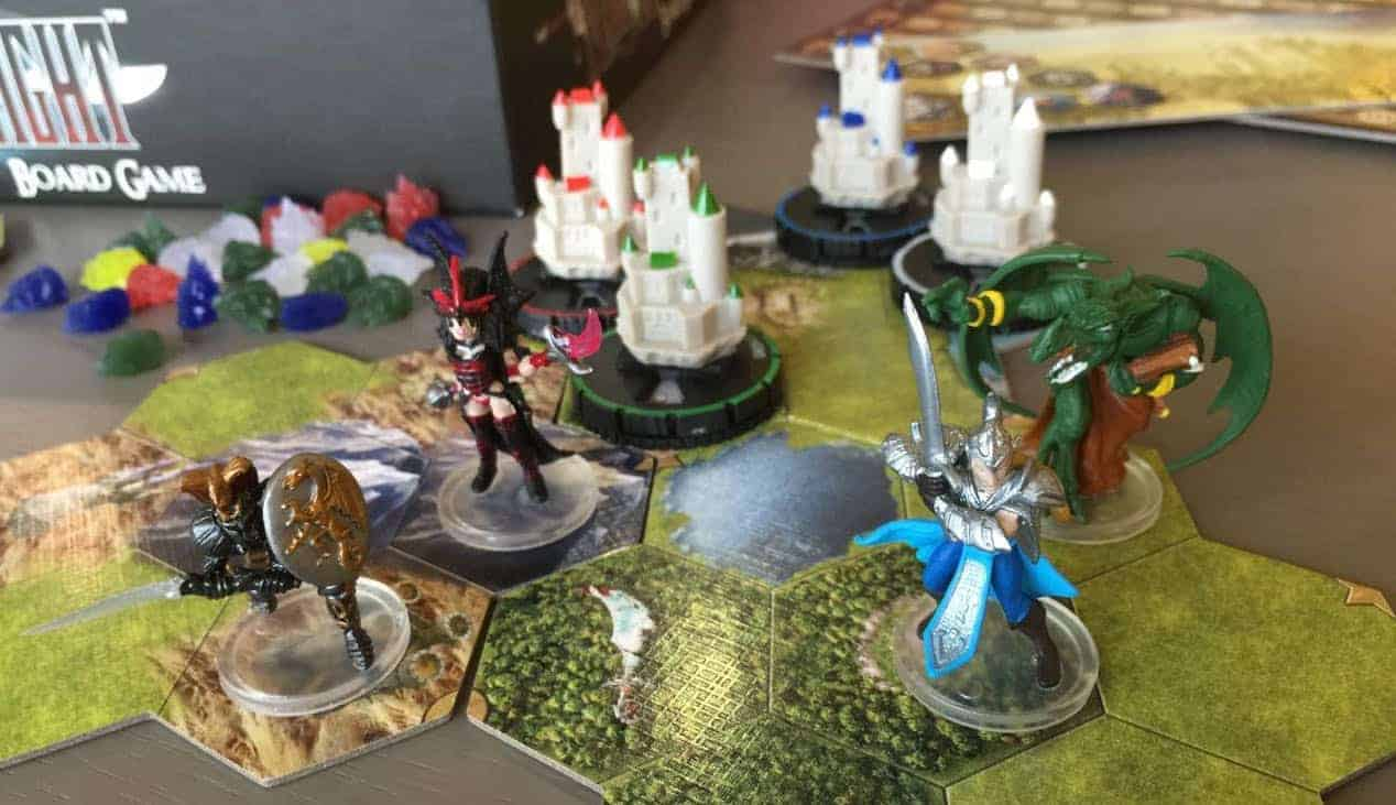 Not only has Mage Knight become one of the best solo board games out there, it has redefined what a solo play is!