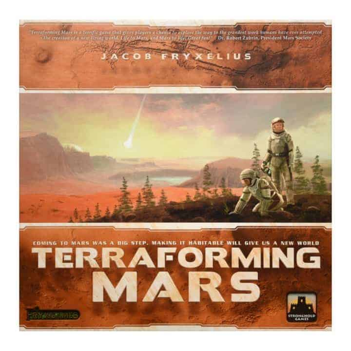 If you are like Elon Musk fascinated with colonizing other planets, Terraforming Mars is one of the best solitaire board games experience ever to hit the table.
