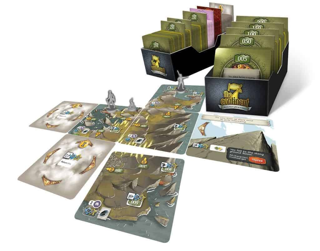 The close to perfect implementation of the adventures and expeditions make The 7th Continent one of the best solitaire board games we have played to date.