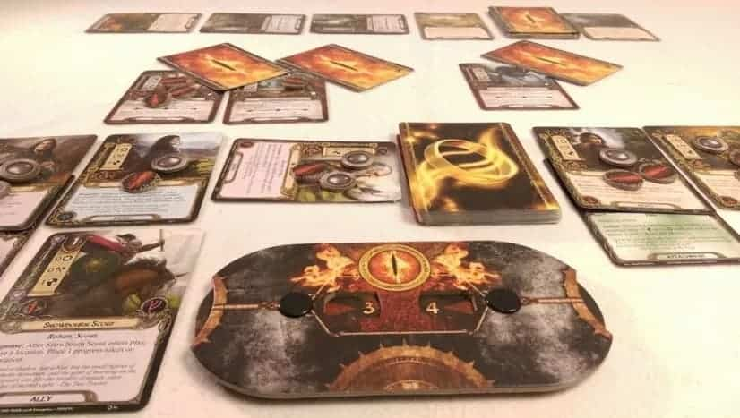 Looking for the best solo deck building game experience? The Lord of the Rings: The Card Game might be just what you are after.