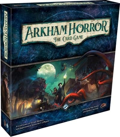 If you fancy horror themes, Arkham Horror is one of the best card games for 2 players out there