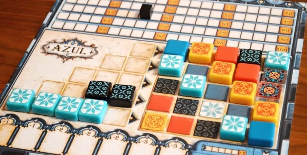 Azul is truly special, it is one of the best board games for 2 or more players you will find. Don't play it with more than four players as it starts to get messy.