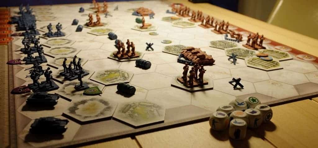Only a handful of board games can wear a badge of being one the best 2 player board games of all time, but Memoir 44 is surely one of them.