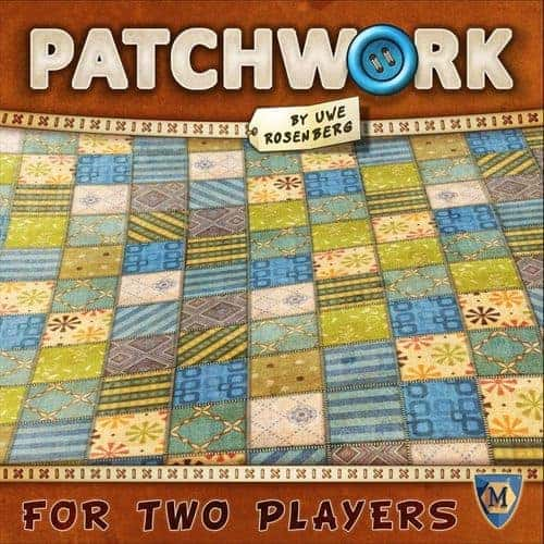 If you are looking for light, easy, abstract but good 2 player board games, Patchwork could tick all the right boxes.
