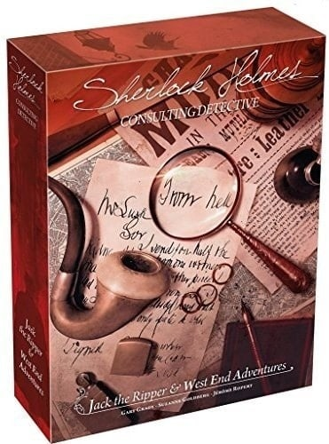 If you are looking for the best board games for 2 or more players - Sherlock Holmes Consulting works brilliantly with two, three of four players.