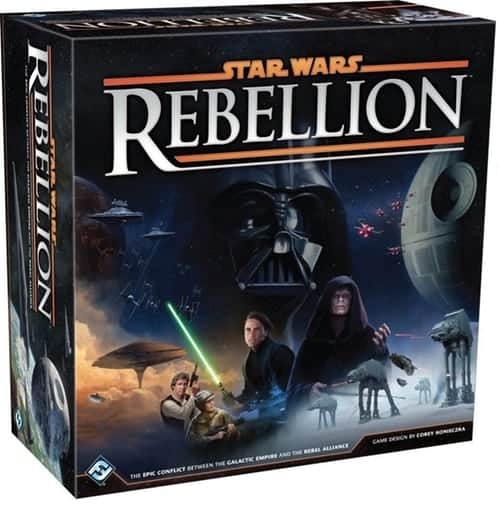 Picking the best strategy board games for 2 players is no easy feast, but Star Wars: Rebellion deserves to be shortlisted.